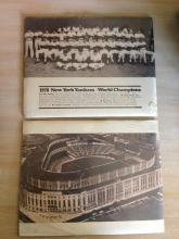 Original 1978 NY Yankees World Champions and Yankee Stadium Photos