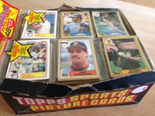 Topps Rack Pack Waxbox Baseball Cards