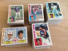 500 Cards Lot; 1984 Topps