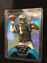 Cam Newton Topps Refractor RC