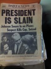 Huge Collectibles Auction: Antiques, Old Books, Film Scripts and photos, Kennedy Newspapers, and so Much more BID NOW!!!
