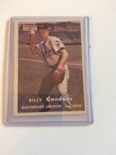 Billy Gardener 1957 Topps Vintage Baseball Card
