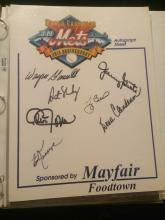 Mixed Autograph Auction: Movie Stars, Singers, Musicians, Sports Stars and Nascar Plus More
