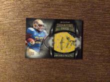 2013 QUANTUM RC UCLA JONATHAN FRANKLIN PATCH ON CARD AUTO # /265
