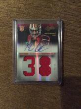 2013 Marcus Lattimore Absolute Dual Patch AUTO /99 Jersey Rc Autograph