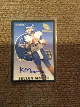 12 Fleer Retro Kellen Moore NFL ROOKIE AUTO 2012
