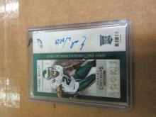Earl Wolff Rookie Panini Contenders Auto 2013