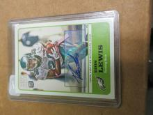 Dion Lewis Auto Topps Magic Rookie 2011