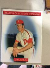 Original 1995 READING PHILLIES YEARBOOK w/ Mike Schmidt on Cover