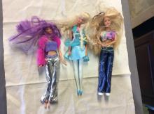 Lot of 3 Vintage Barbie Dolls Lot of 3 Figures Mattel