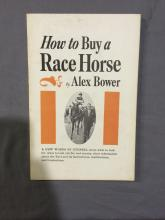 how to buy a race horse By Alex Bower