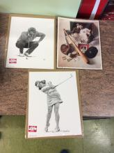 Sports Photo Lot New York Yankkes Tiger woods and more