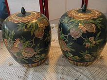 Asian Art Decorative Vases