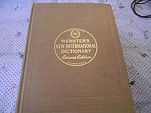 All Color Webster Dictionary 1952