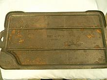 Cast Iron Dry Griddle