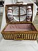 Vintage Sears 21 Piece Patriotic Picnic Basket