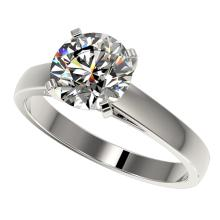 Genuine 2.0 CTW Certified H-I Quality Genuine Diamond Solitaire Engagement Ring Gold - 33029-REF#427X2A