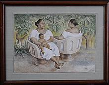 Francisco Zuniga Lithograph