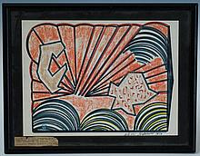 Russian Modernist Abstract Painting