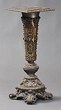 Victorian Rococo Revival Pedestal