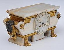 French Classical Revival Mantle Clock