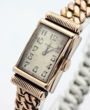 Circa 1933 ELGIN Hand Wind Men's Art Deco Watch