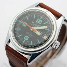 Vintage Men's CHALET Hand Wind Diver's Watch