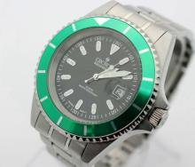 Men's CROTON Aquamatic Stainless Steel Dive Watch