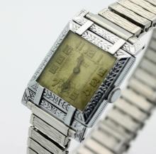 Antique BENRUS Hand Wind Art Deco Watch