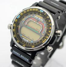 Vintage Men's CASIO Tachy Meter LCD Watch