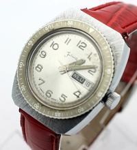 Vintage Men's FASHIONTIME Skindiver Watch