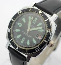 Circa 1970's Men's LUCERNE Marine Luxus Diver Super Waterproof Watch
