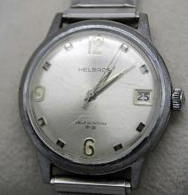 Helbros Vintage Self Winding Date Mens Dress Watch