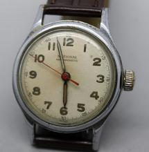 National Mens Military Style Watch Swiss Movement