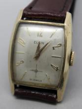 Vintage Elgin Mens Dress Watch Ready 2 Wear