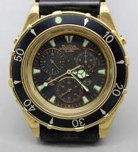Bulova Chronograph Alarm Watch Marine Star