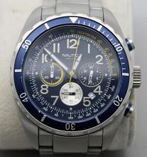 Nautica Mens Triple Register Watch N15514