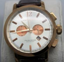 Haurex Mens Italian Watch w Box