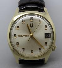 1972 Bulova Accutron Date Mens Watch