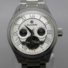 Louis Bolle Mens Stainless Steel Automatic Watch