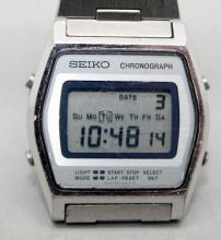 Vintage Seiko LED Chronograph w Original Band