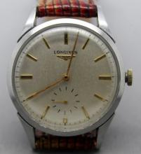 Vintage Longines Clean Mens Watch RARE 12.68z CAL