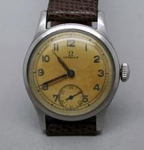 Circa 1940 WWII Era OMEGA Ref. 2165 Military Watch