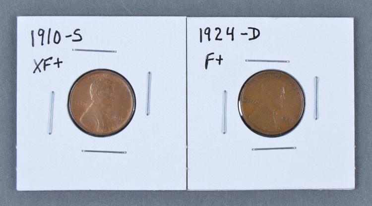 Two Scarce Lincoln Cents