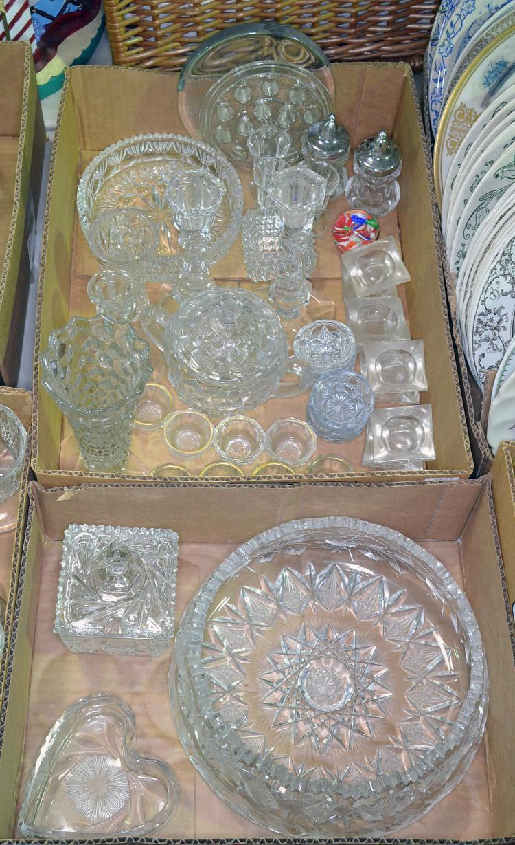 Two Bxs Glassware