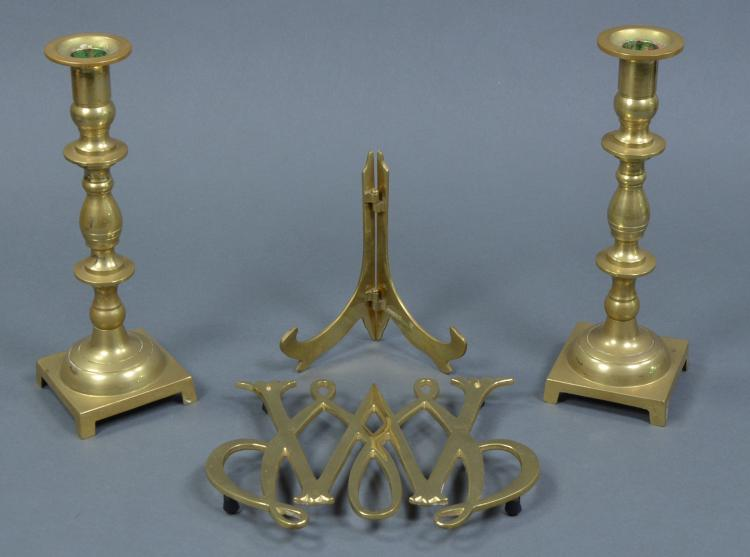 Bx Virginia Metal Crafters William & Mary Brass