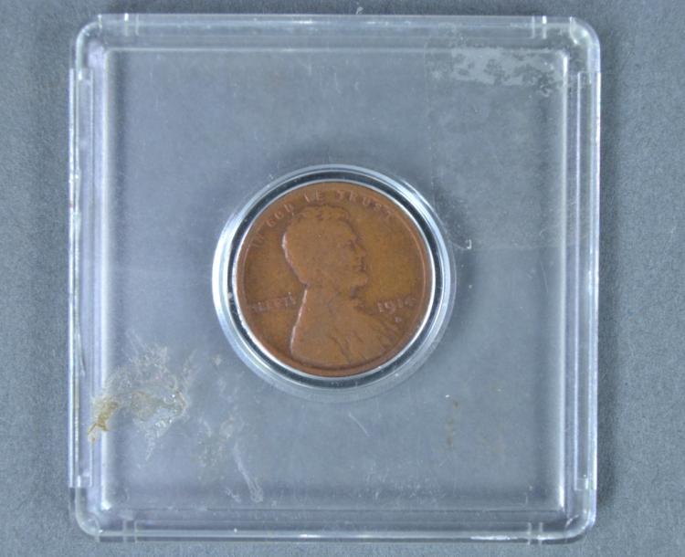 Rare 1914-D Lincoln Cent