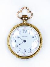 Rolled Gold Waltham Ladies Pocket Watch