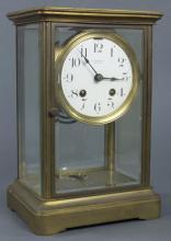 Brass Tiffany & Co. Mantel Clock