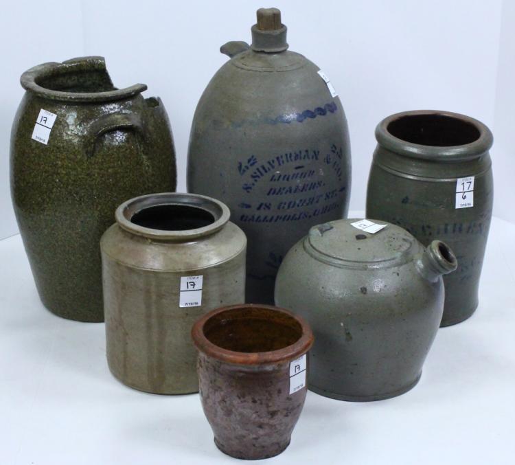 Six Pcs Stoneware